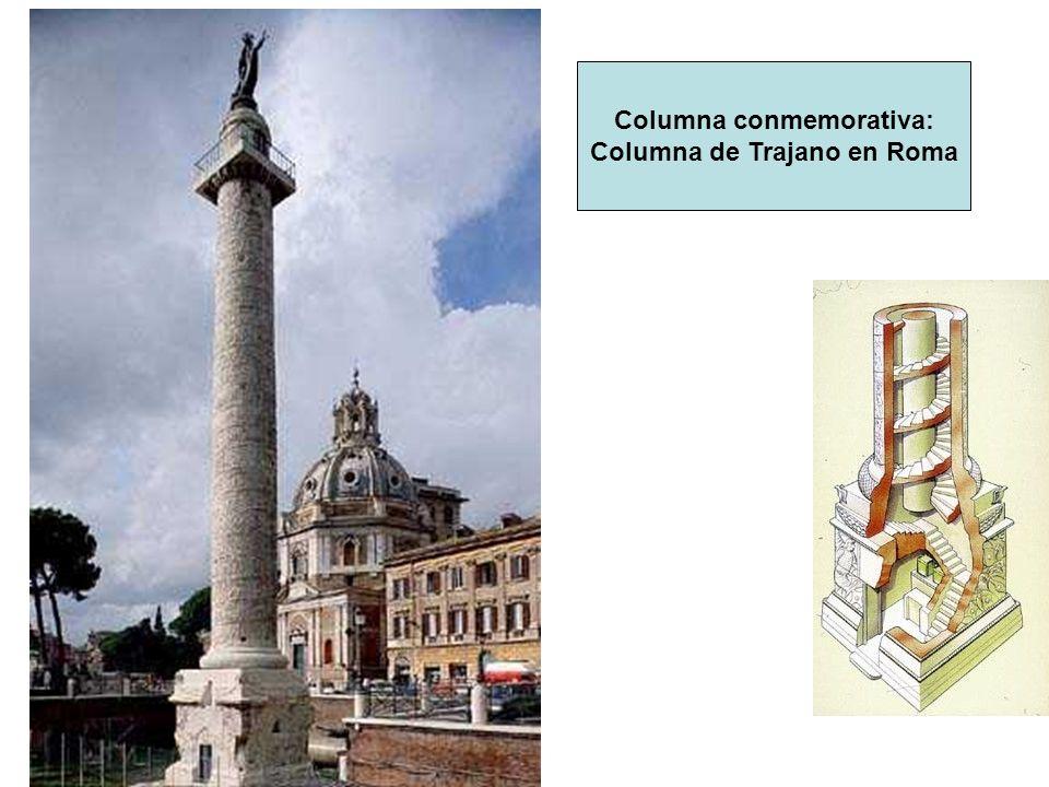 Columna conmemorativa: Columna de Trajano en Roma