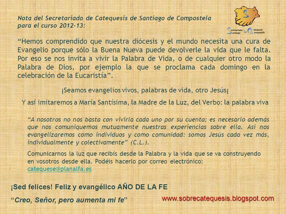 «Andad, aprended lo que significa: Misericordia quiero y no sacrificios» Texto de: Chiara Lubich, Publicada en junio 1996. O comentario da Palabra de