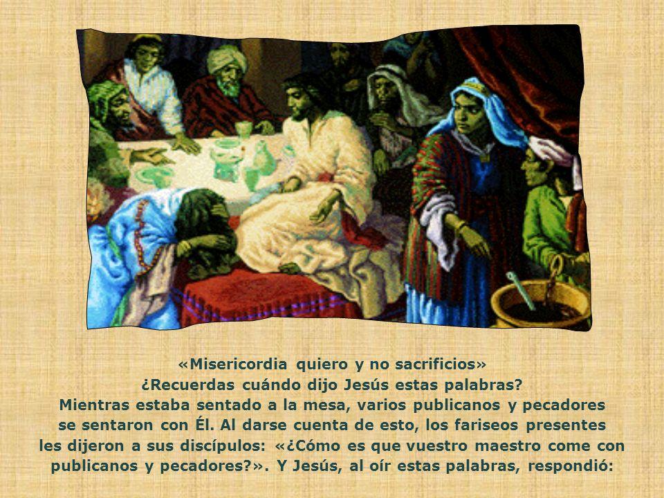 «Andad, aprended lo que significa: Misericordia quiero y no sacrificios» Texto de: Chiara Lubich, Publicada en junio 1996.