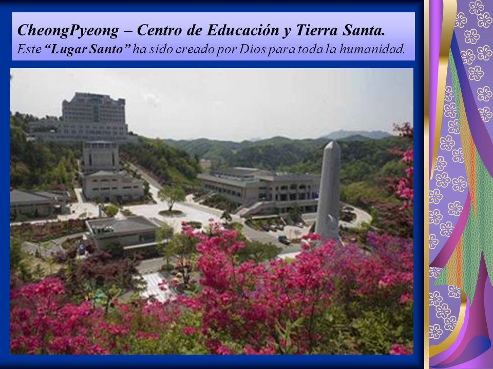CheongPyeong – Centro de Educación y Tierra Santa.