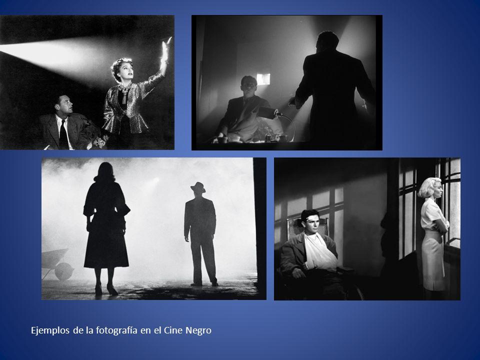 Ejemplos de la fotografía en el Cine Negro