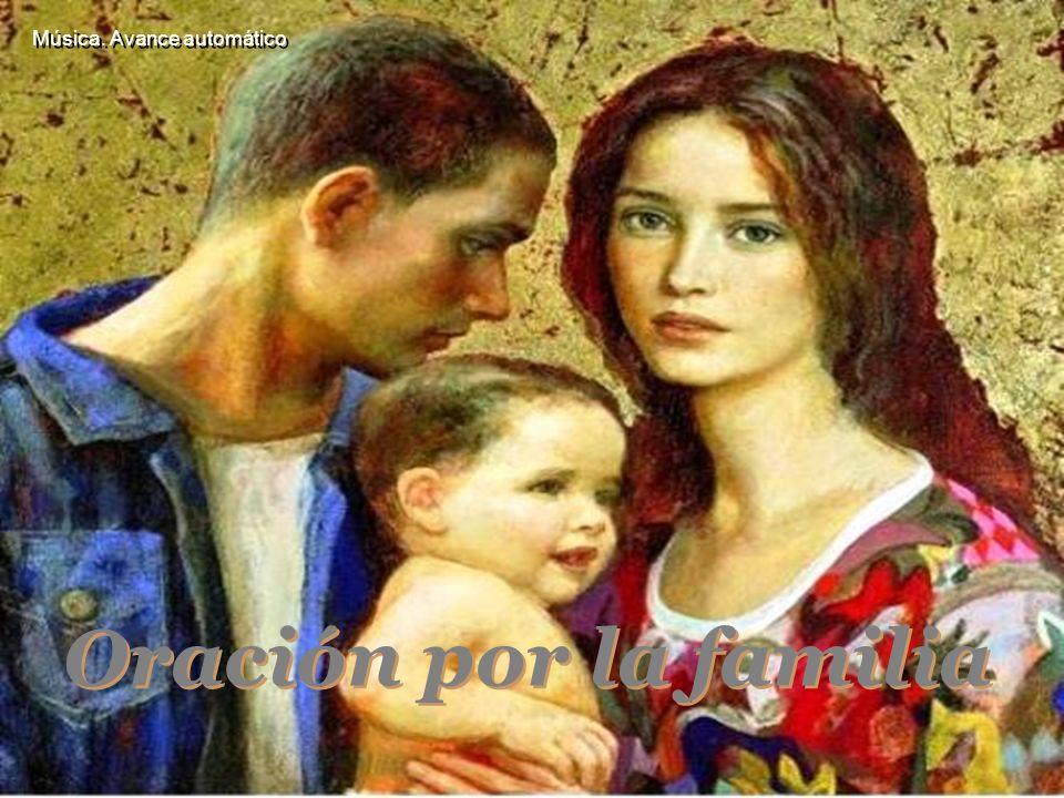 Música. Avance automático Oración por la familia