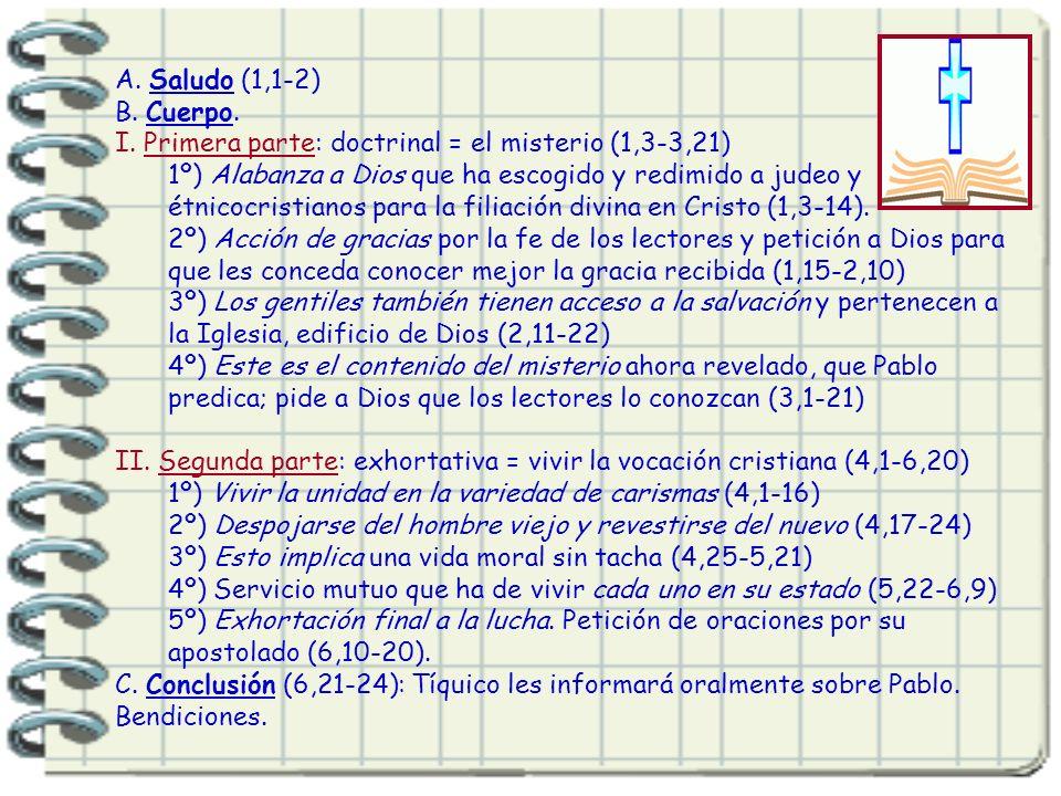 5. Contenido y estructura. Junto con Rom es el escrito mejor estructurado: