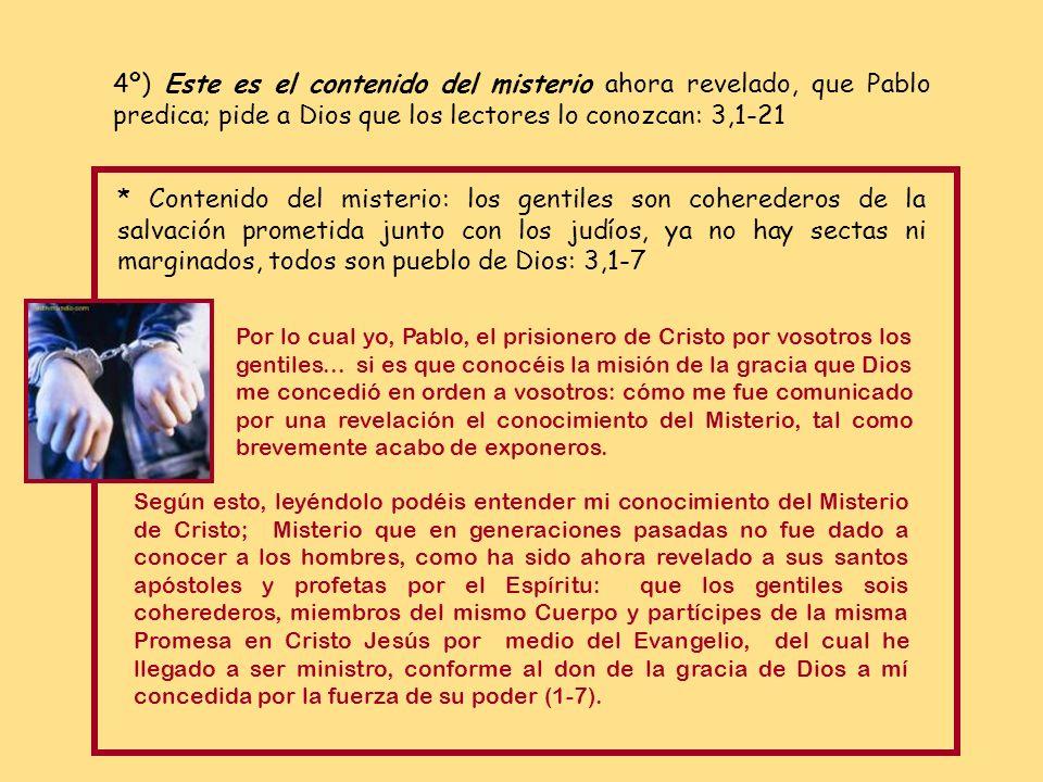 * Cristo lo consiguió dando muerte en sí a la enemistad: 2,16-b18 (reconciliar) por medio de la cruz, dando en sí mismo muerte a la Enemistad. Vino a