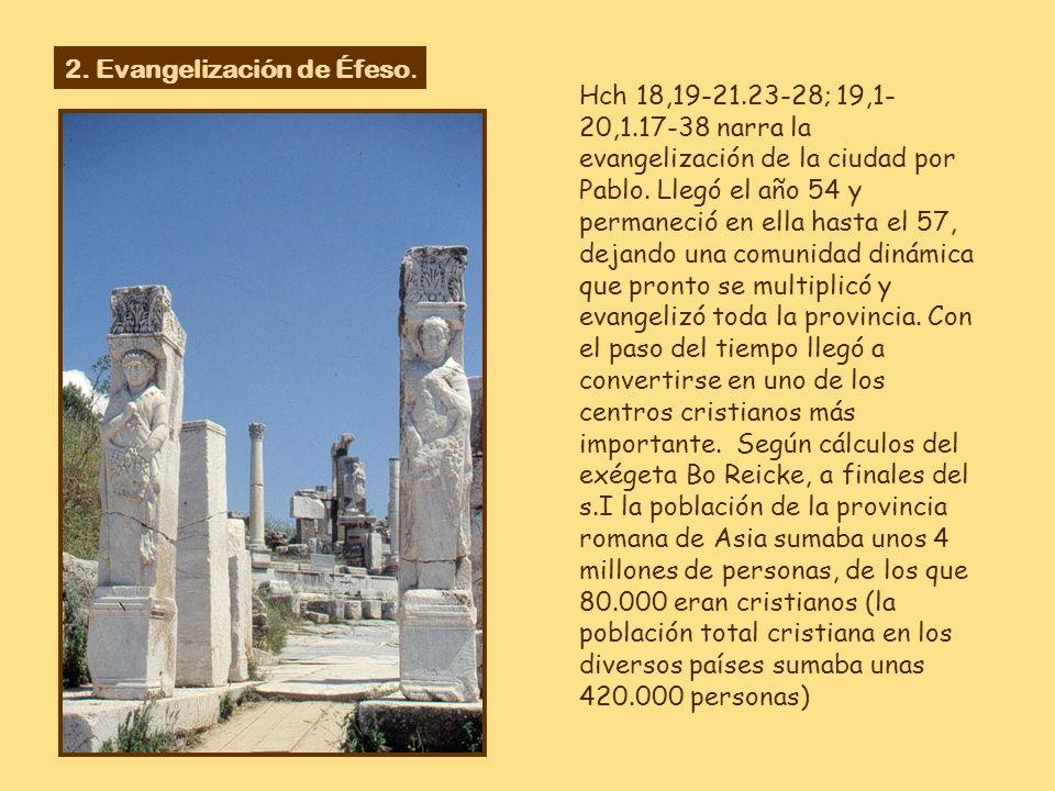 Situada a orillas del mar Egeo, Éfeso fue una de las 12 ciudades jónicas, fundada en el s. XI a.C. por colonos atenienses. Estaba situada entre los mo