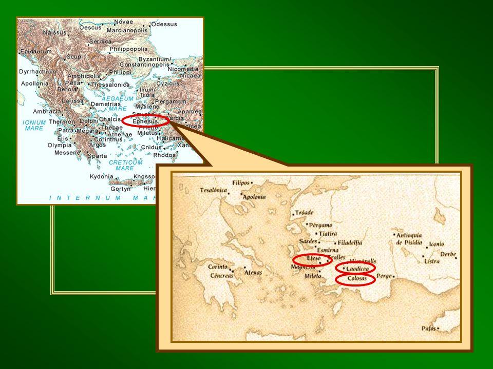 Hch 18,19-21.23-28; 19,1- 20,1.17-38 narra la evangelización de la ciudad por Pablo. Llegó el año 54 y permaneció en ella hasta el 57, dejando una com
