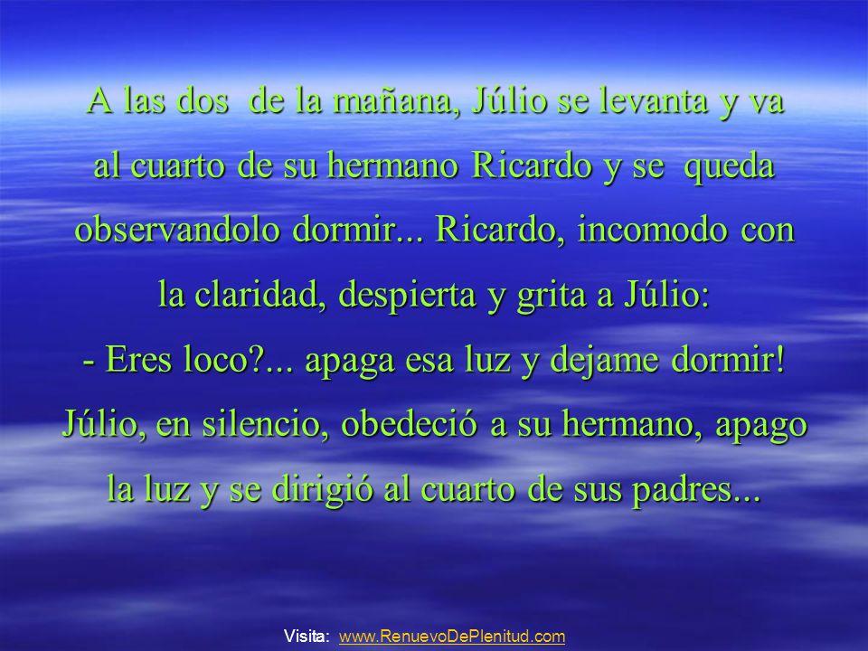En el cuarto del matrimonio, ambos se preparaban para acostarse, Doña Juana pregunta a su marido Jacób: -Jacó...