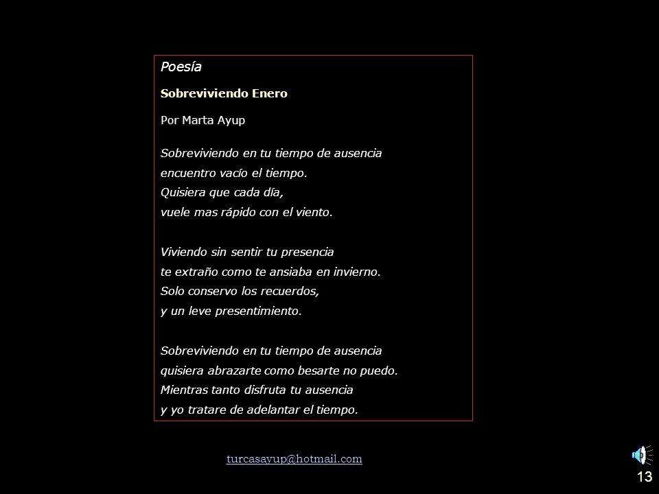 12 Poesía Río Calchaquí Por Oscar Paz Como una carótida de América las mil vertientes minerales alimentan el hambre milenario del Río Calchaquí.