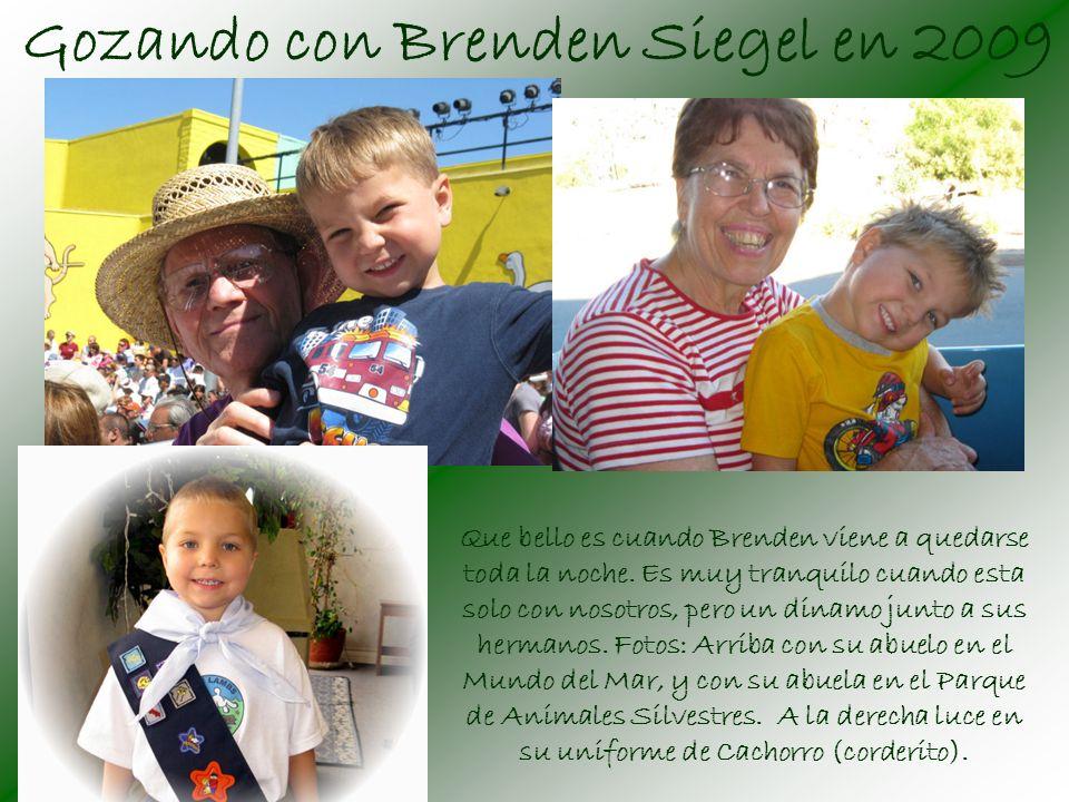 Gozando con Brenden Siegel en 2009 Que bello es cuando Brenden viene a quedarse toda la noche.