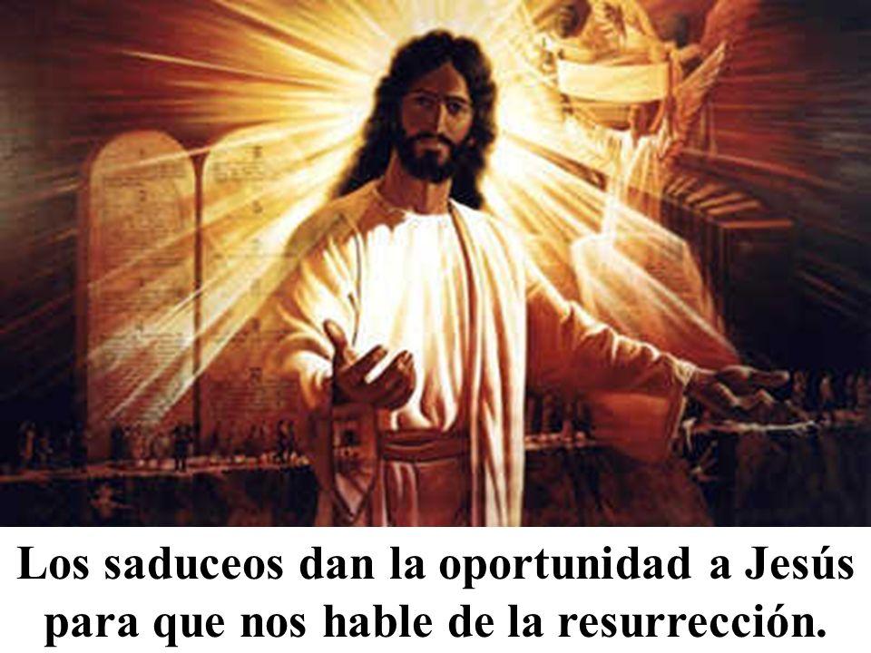 Esta, pues, ¿de cuál de ellos será mujer en la resurrección? Porque los siete la tuvieron por mujer.»