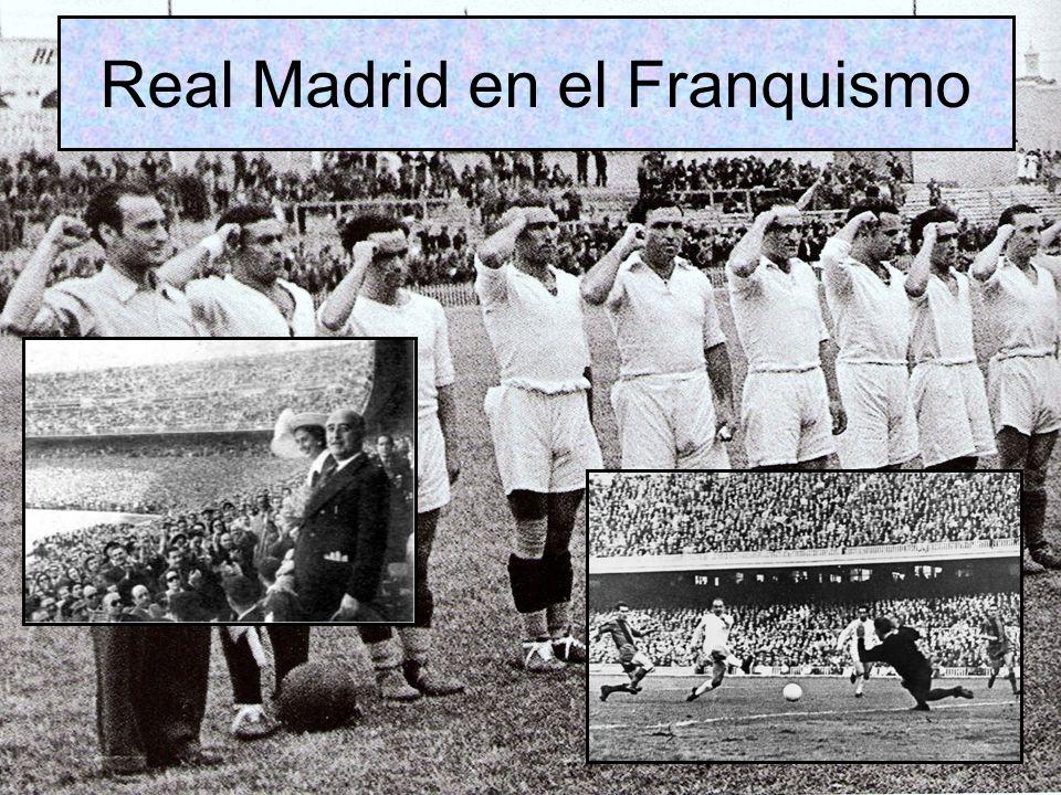 Real Madrid en el Franquismo