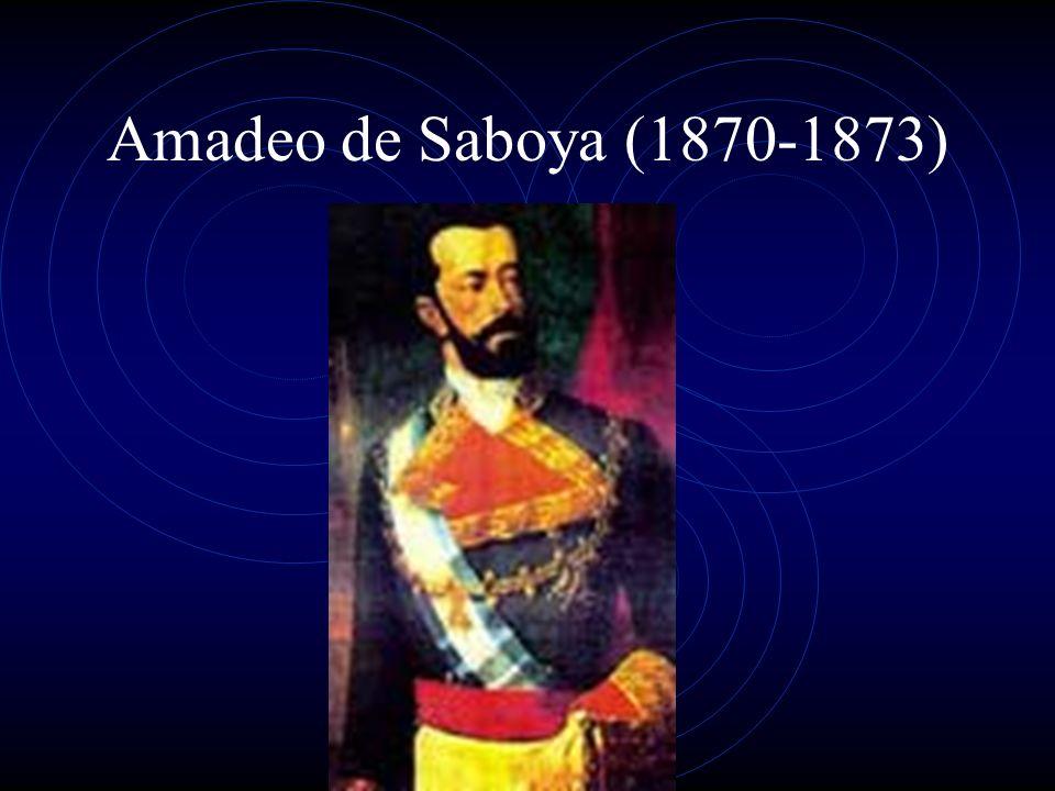 Amadeo de Saboya (1870-1873)