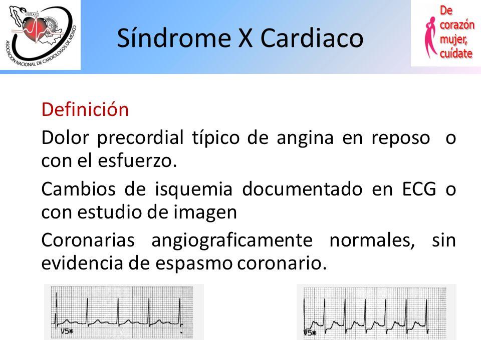 Mujer con coronarias normales y angor pectoris, que continua con dolor, ¿Cuál es la opción de manejo mas útil? Mujer con coronarias normales y angor p