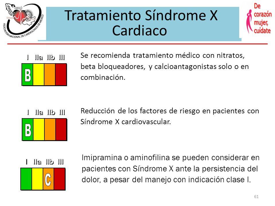 60 Cardiovascular Syndrome X El Ultrasonido Intracoronario se debe considerar para valorar la extensión de la ateroesclerosis y descartar lesiones obs