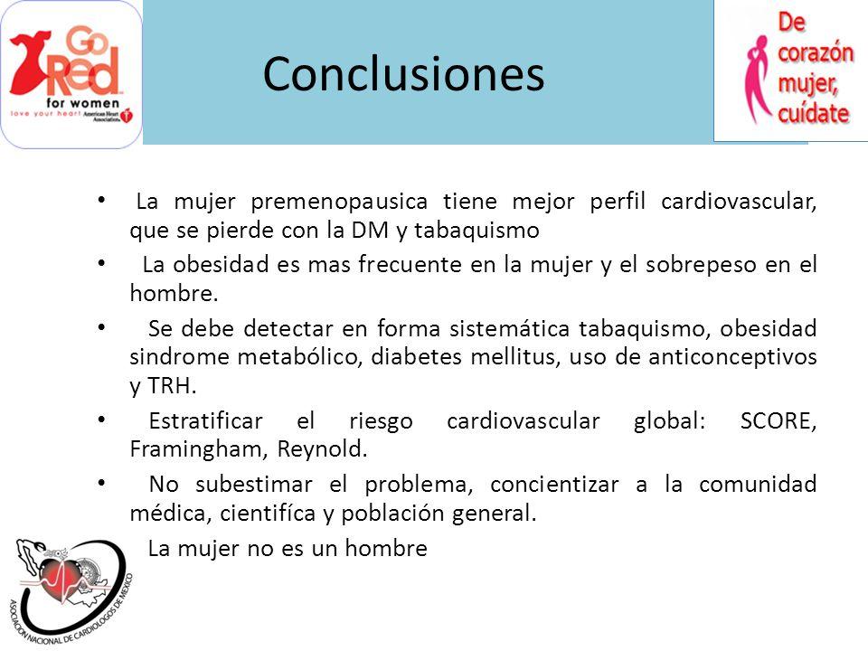 Conclusiones La controversia continua después de mas de 30 años que se describe el síndrome X cardiaco. Identificar el mecanismo subyascente es import