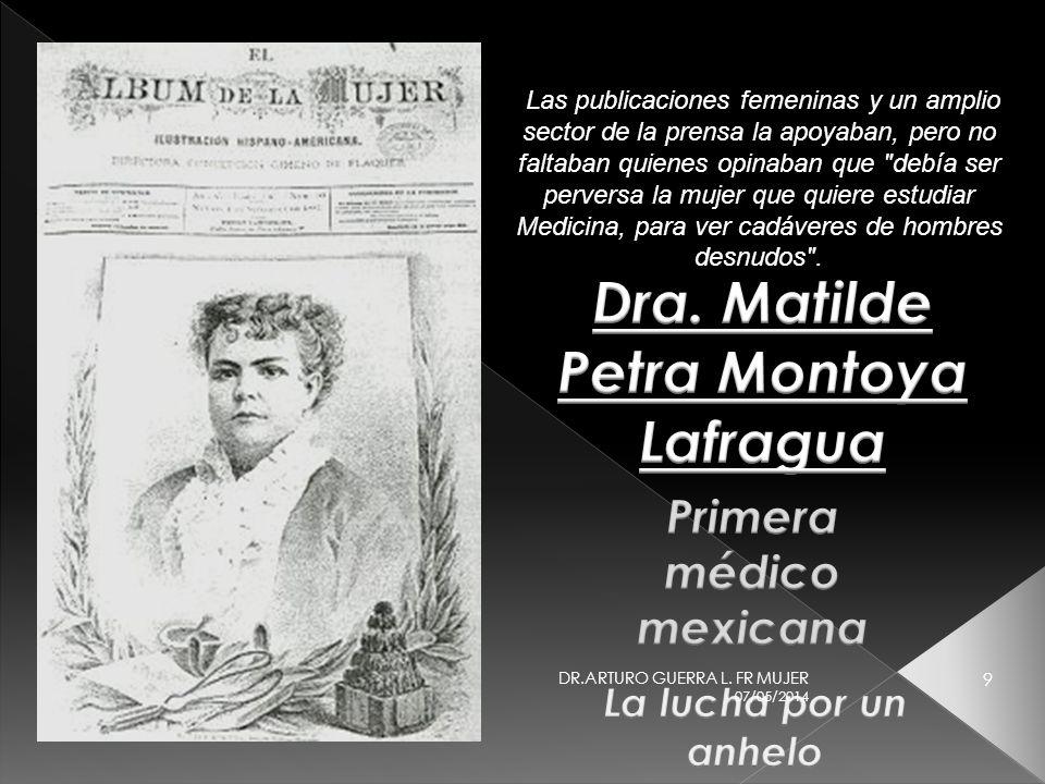 07/05/2014 29 DR.ARTURO GUERRA L. FR MUJER