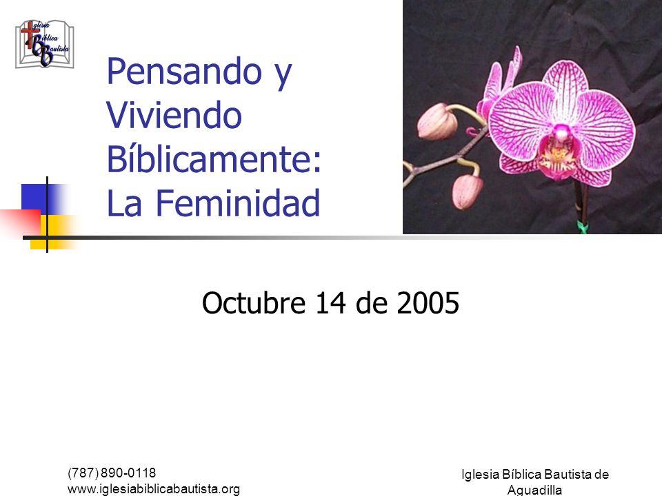 La feminidad según la Biblia Lo primero que tenemos que recordar es lo siguiente: La existencia de Dios no cambia.