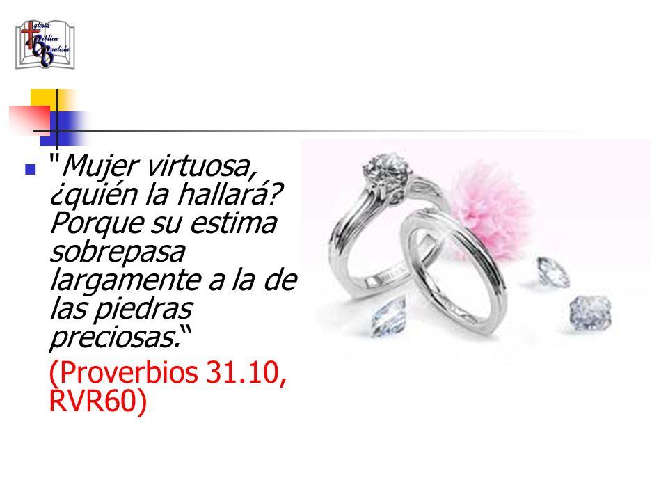 Engañosa es la gracia, y vana la hermosura; La mujer que teme a Jehová, ésa será alabada.