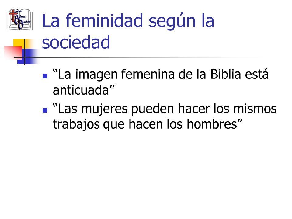Lo que afecta el concepto de la feminidad Hay dos factores principales que afectan lo que tú entiendes por feminidad.