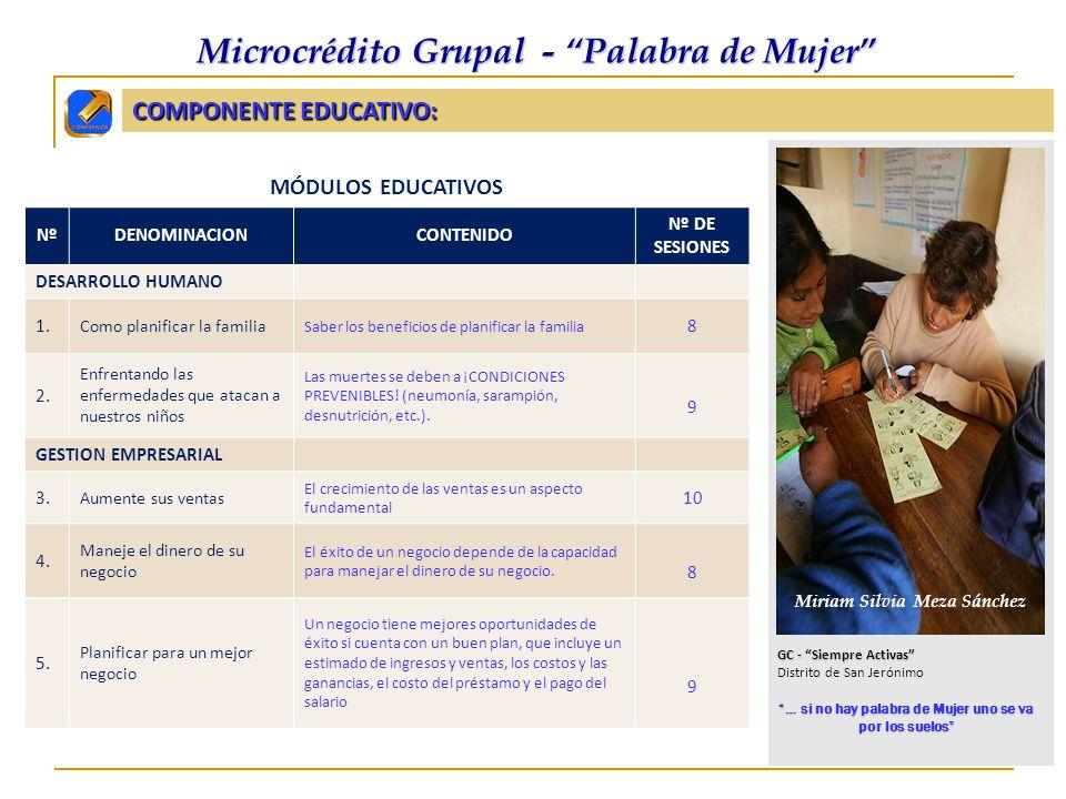 CIFRAS DEL PRODUCTO PALABRA DE MUJER: (dic.2006 - ago.