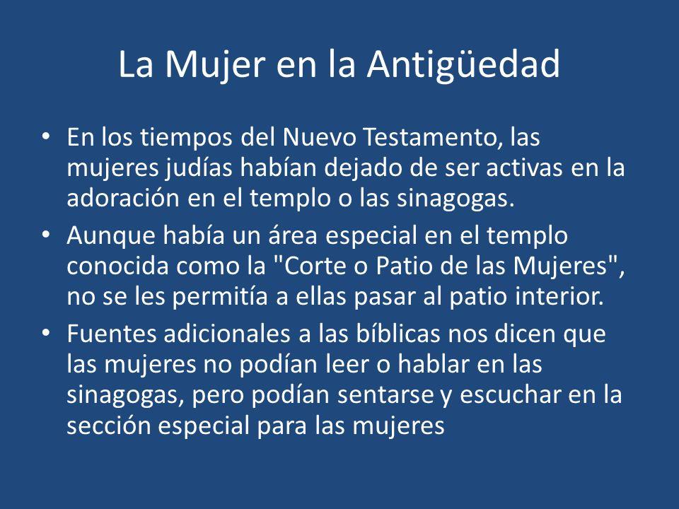 Jesús Líder de las Mujeres Un cuadro diferente se revela en el ministerio de Jesús.