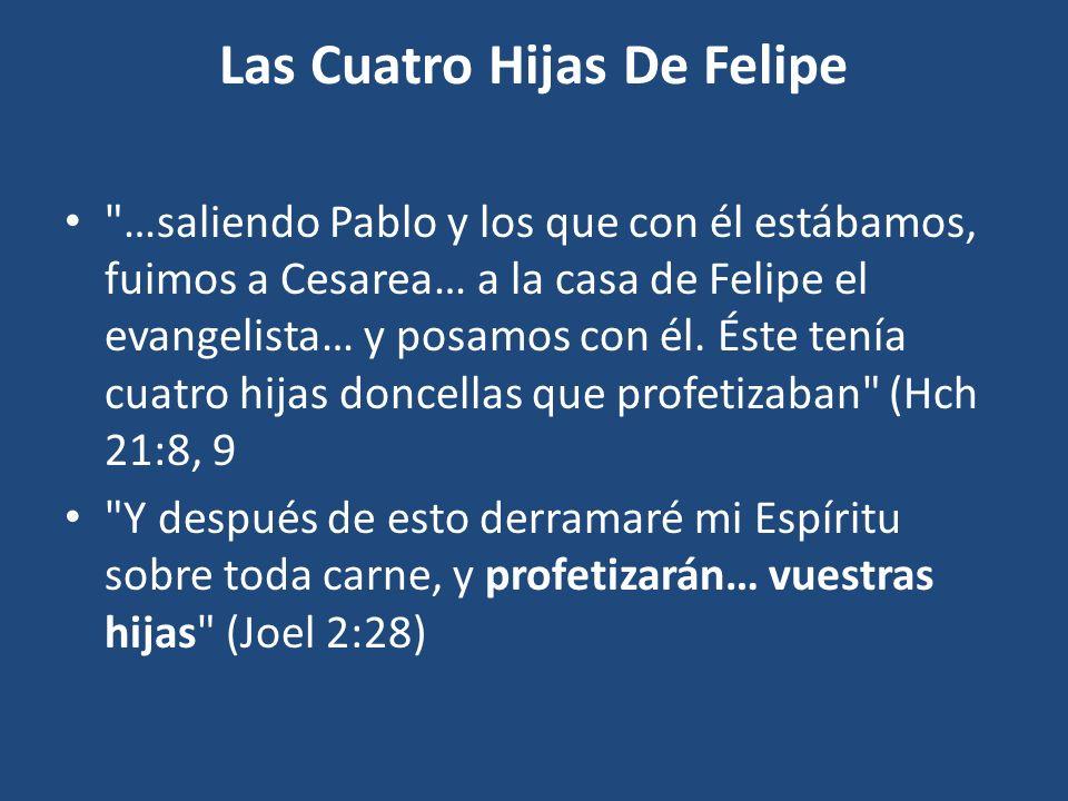 Las Cuatro Hijas De Felipe