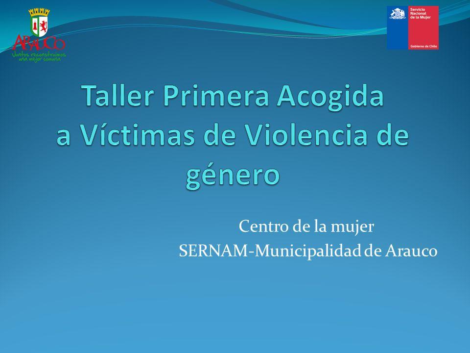 Centro de la mujer SERNAM-Municipalidad de Arauco