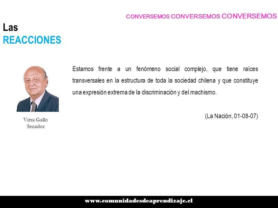 Estamos frente a un fenómeno social complejo, que tiene raíces transversales en la estructura de toda la sociedad chilena y que constituye una expresi