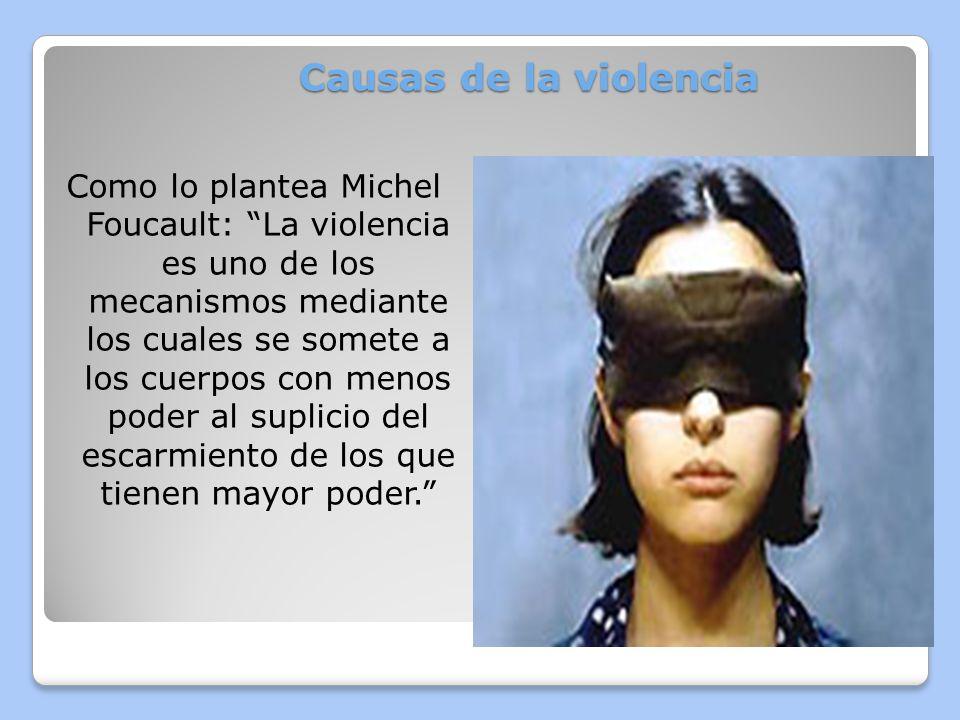 Causas de la violencia Cuatro factores (micro y macro) han sido consistentemente asociados con la violencia contra las mujeres en todo el mundo: - Normas sociales que justifican en los hombres un sentido de posesión sobre las mujeres.