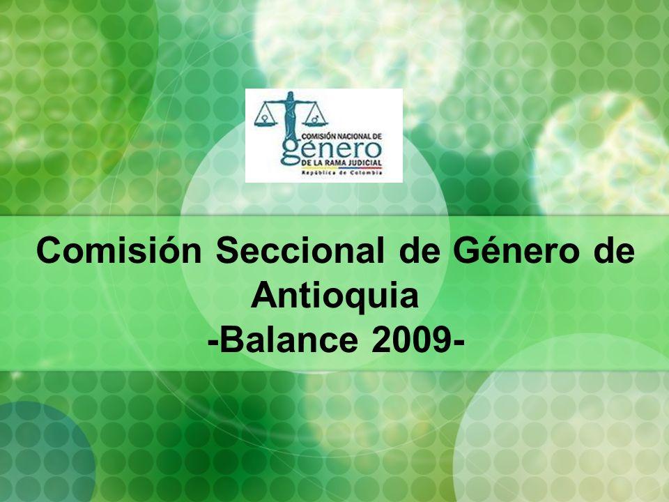 Marco de Acción Líneas estratégicas definidas por la Comisión Nacional de Género en el Acuerdo PSAA08- 4552 de 2008.