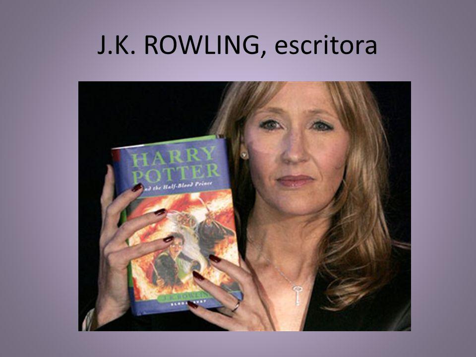 J.K. ROWLING, escritora