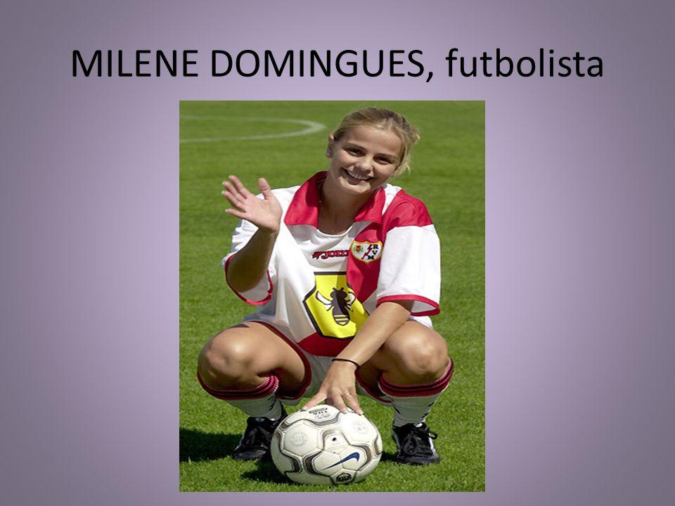 MILENE DOMINGUES, futbolista
