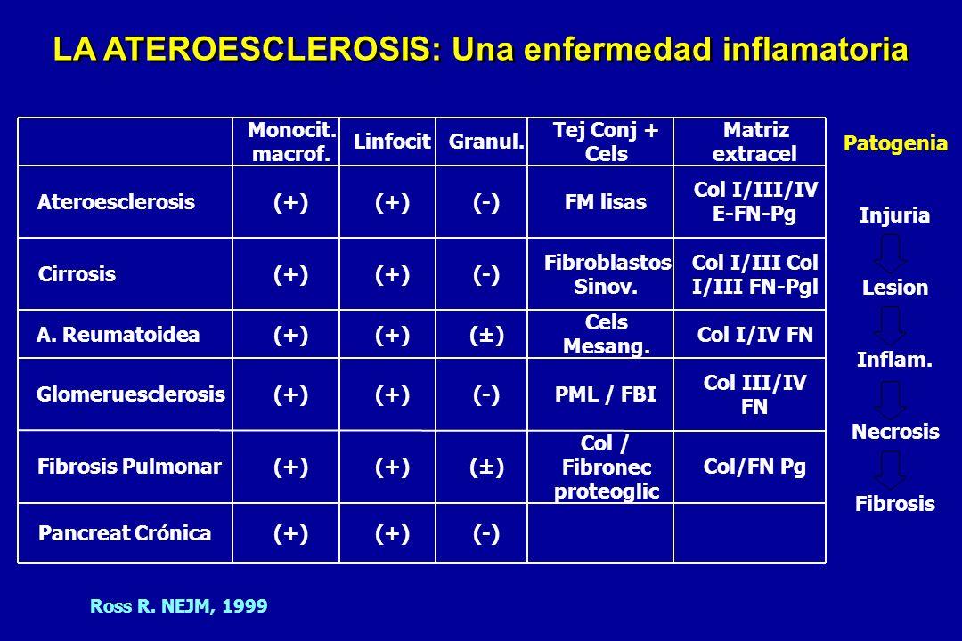 LA ATEROESCLEROSIS: Una enfermedad inflamatoria Monocit.