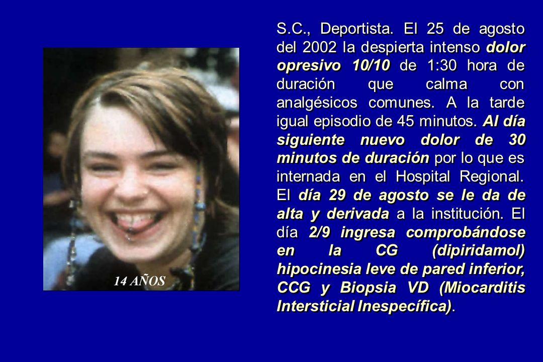 S.C., Deportista.