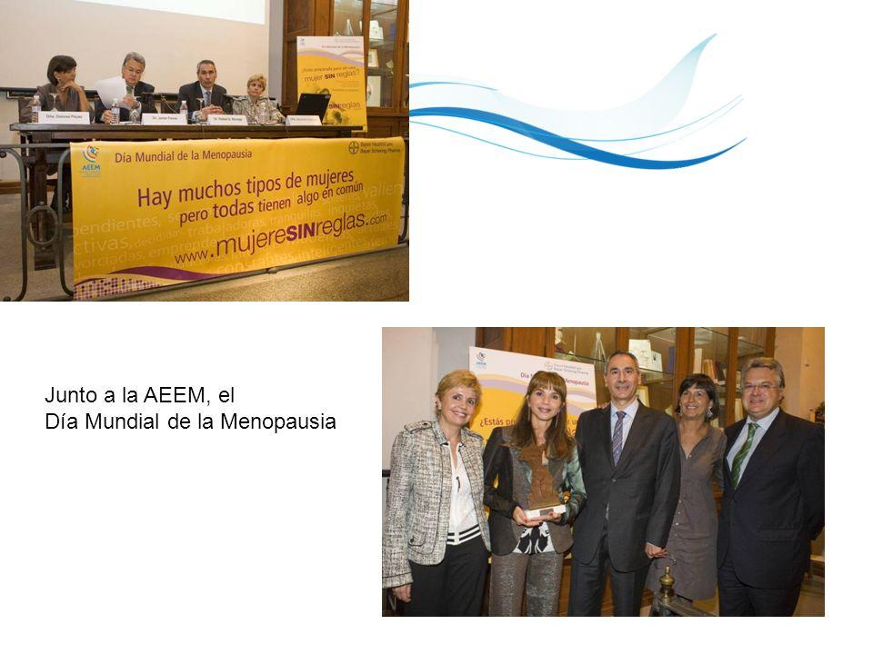 17 Junto a la AEEM, el Día Mundial de la Menopausia