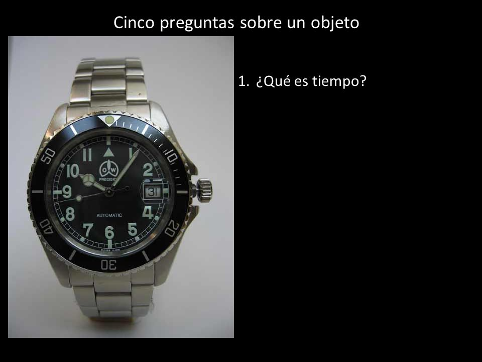 1.¿Qué es tiempo?