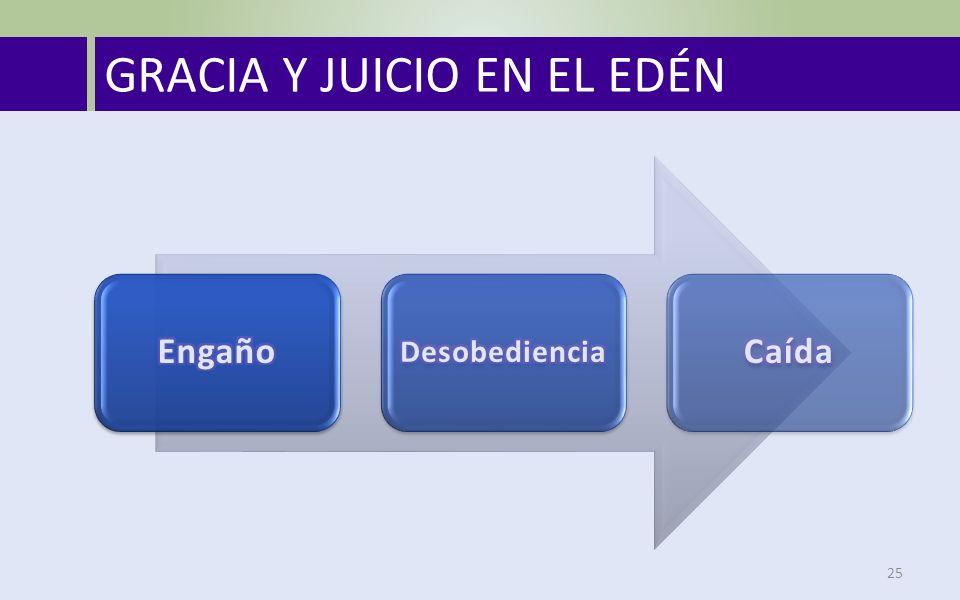 GRACIA Y JUICIO EN EL EDÉN 25
