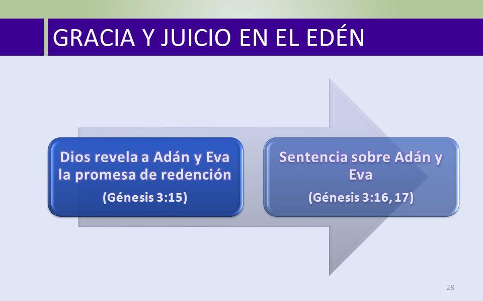 GRACIA Y JUICIO EN EL EDÉN 28