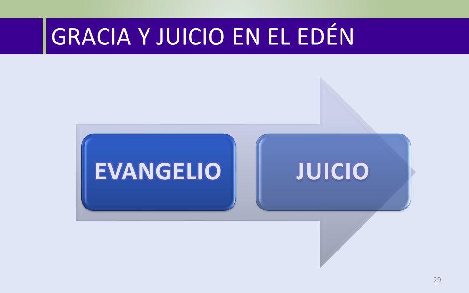 GRACIA Y JUICIO EN EL EDÉN 29