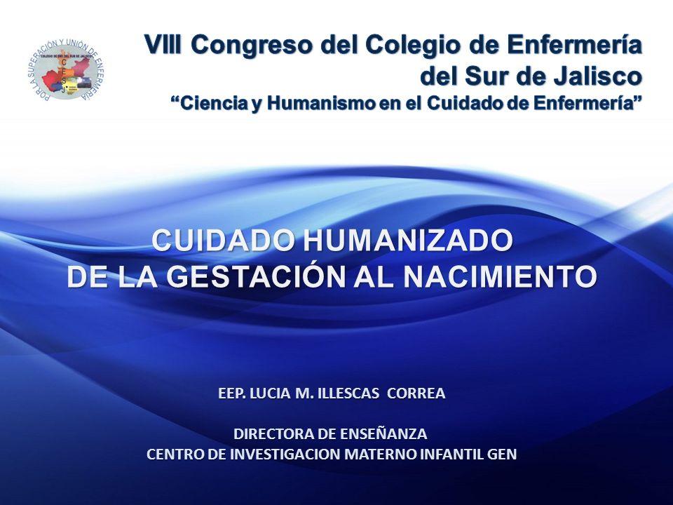 EEP. LUCIA M. ILLESCAS CORREA DIRECTORA DE ENSEÑANZA CENTRO DE INVESTIGACION MATERNO INFANTIL GEN