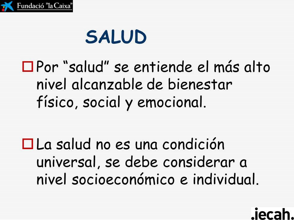 Curso de gestión del ciclo del proyecto en la acción humanitaria Aspectos transversales: - Salud Toledo, 26-28 de abril 2007