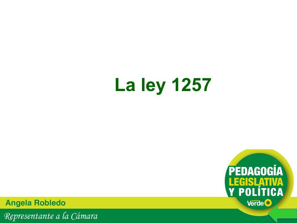 La ley 1257 13