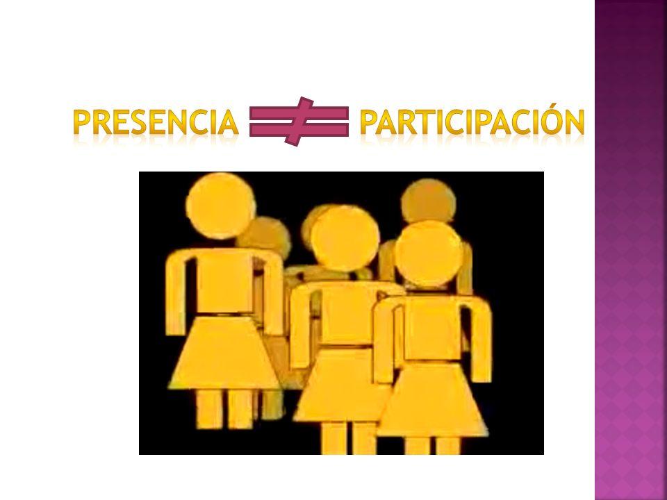 Defender y divulgar los derechos de la mujer Empoderamiento femenino Capacidad de análisis, discurso, propuesta Forjar nuevas masculinidades Estatutos con mirada de equidad de género (creados por hombres) Participación de la mujer