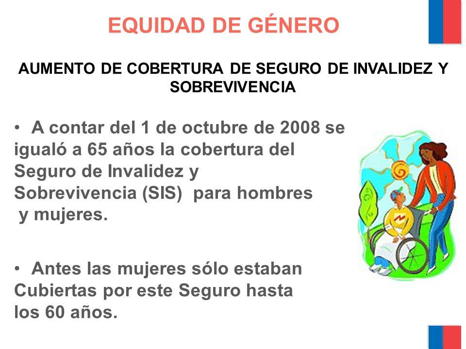 EQUIDAD DE GÉNERO NUEVO BENEFICIARIO DE PENSIÓN DE LA MUJER.