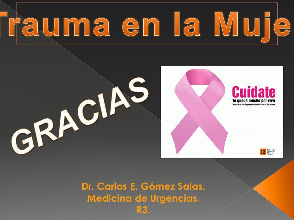 Dr. Carlos E. Gómez Salas. Medicina de Urgencias. R3.