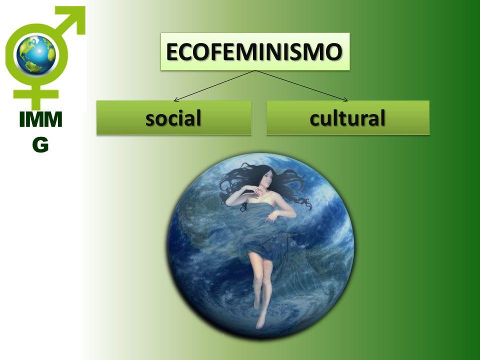 IMM G ECOFEMINISMOECOFEMINISMO socialsocialculturalcultural