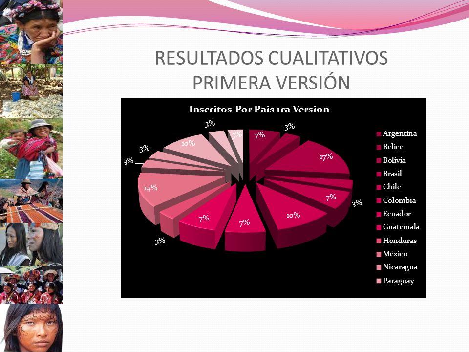 RESULTADOS CUALITATIVOS PRIMERA VERSIÓN