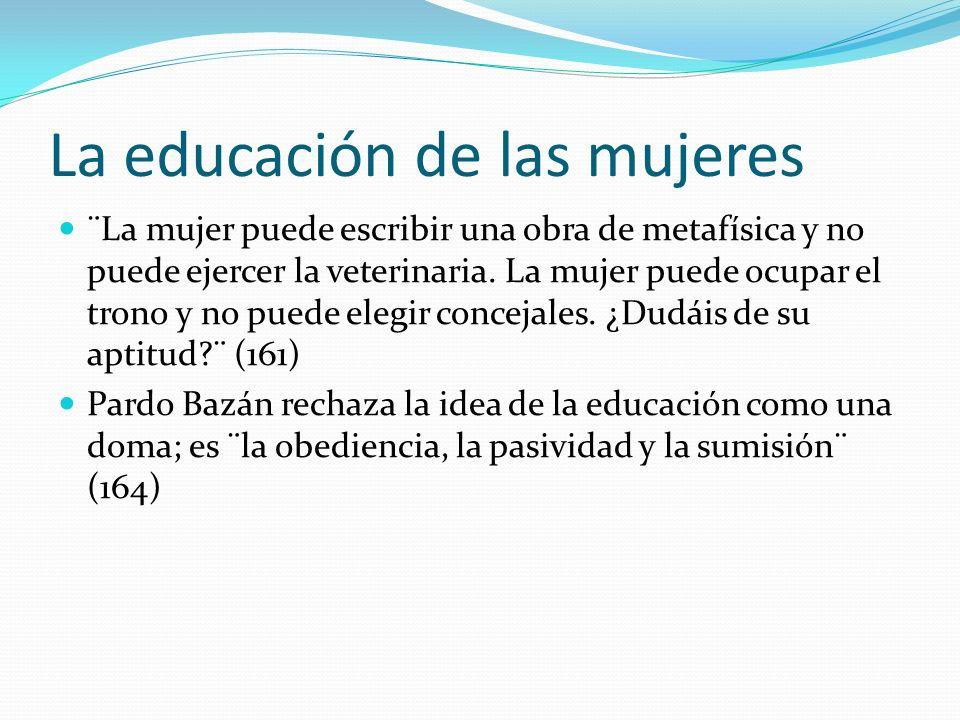 Usos en la clase Hacer conexiones Ver prejuicios y desigualdades Aprender de la sociedad española durante este período Relacionar con Ganivet