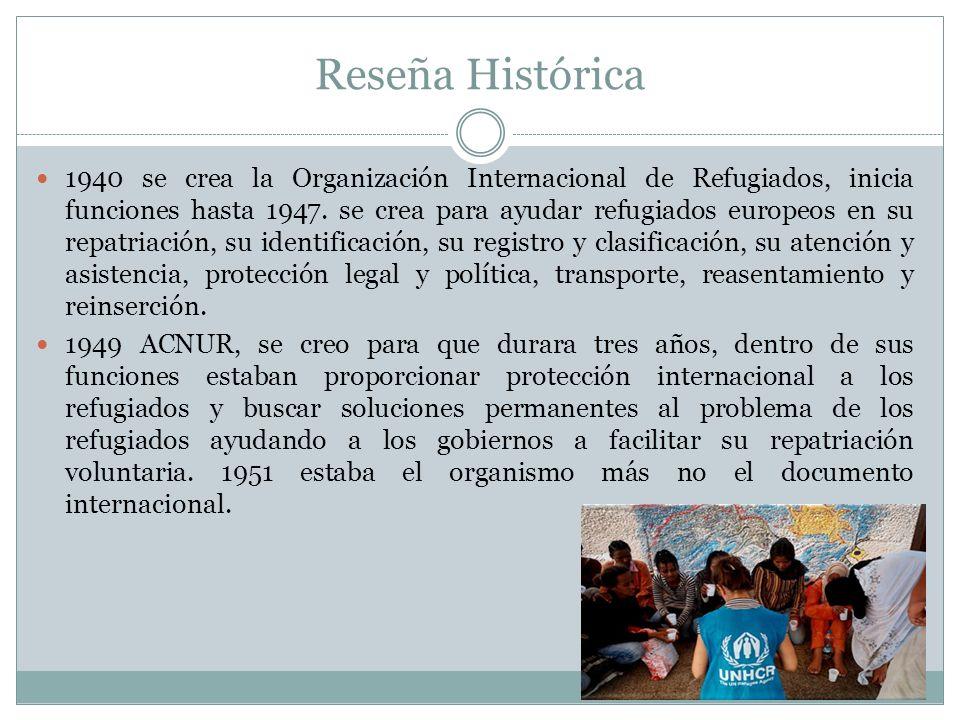 Otras Organizaciones Comité Internacional de la Cruz Roja Federación Internacional de Sociedades de la Cruz Roja y la Media Luna Roja Organización Internacional para las Migraciones