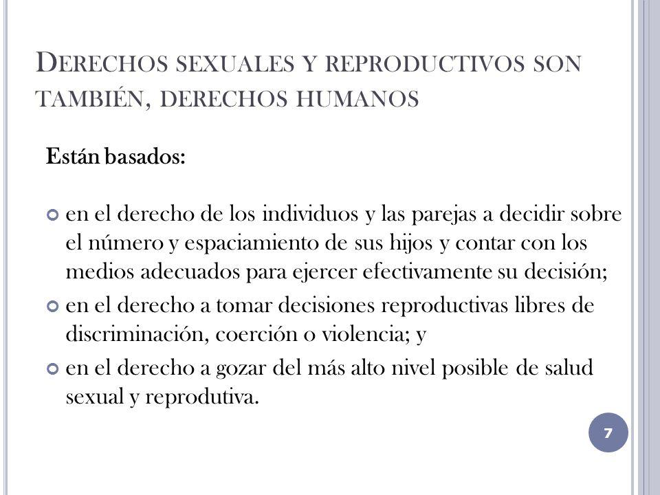 M UJER CON REQUERIMIENTOS DE ABORTO LEGAL